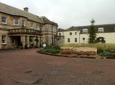 Kirkley Hall Entrance