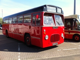 Midland Red (BMMO) S15 single-deck bus