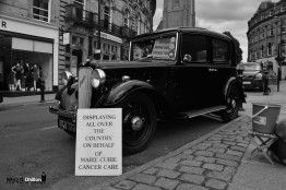 Marie Curie Cancer Care Vintage Car