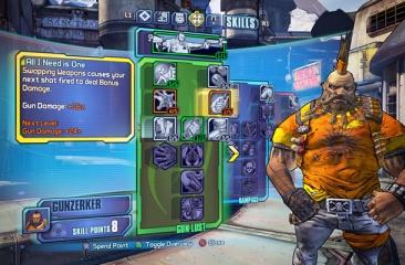 Character development - Borderlands 2