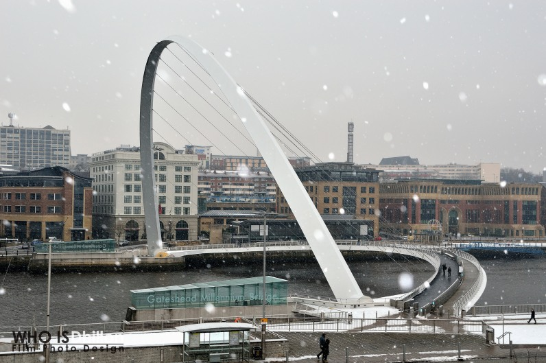 Newcastle in Winter