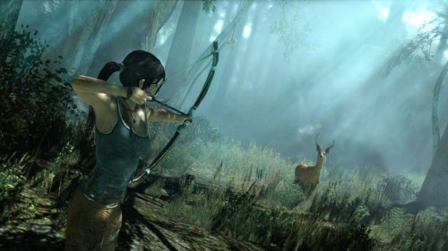Tomb Raider - Lara Croft Hunting