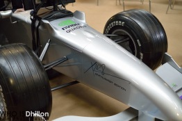 PNY Nvidia powered F1 car