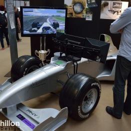 PNY Nvidia powered F1 car