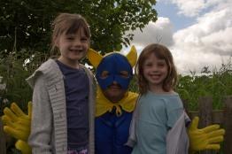 Bananaman and his Kids