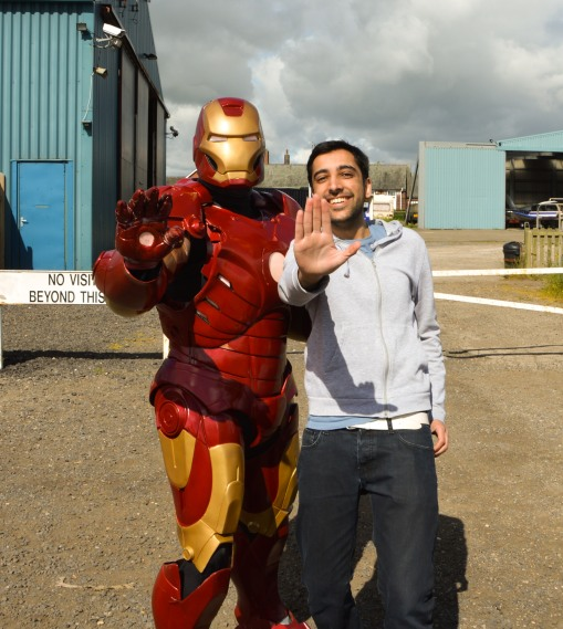 Me and Iron Man