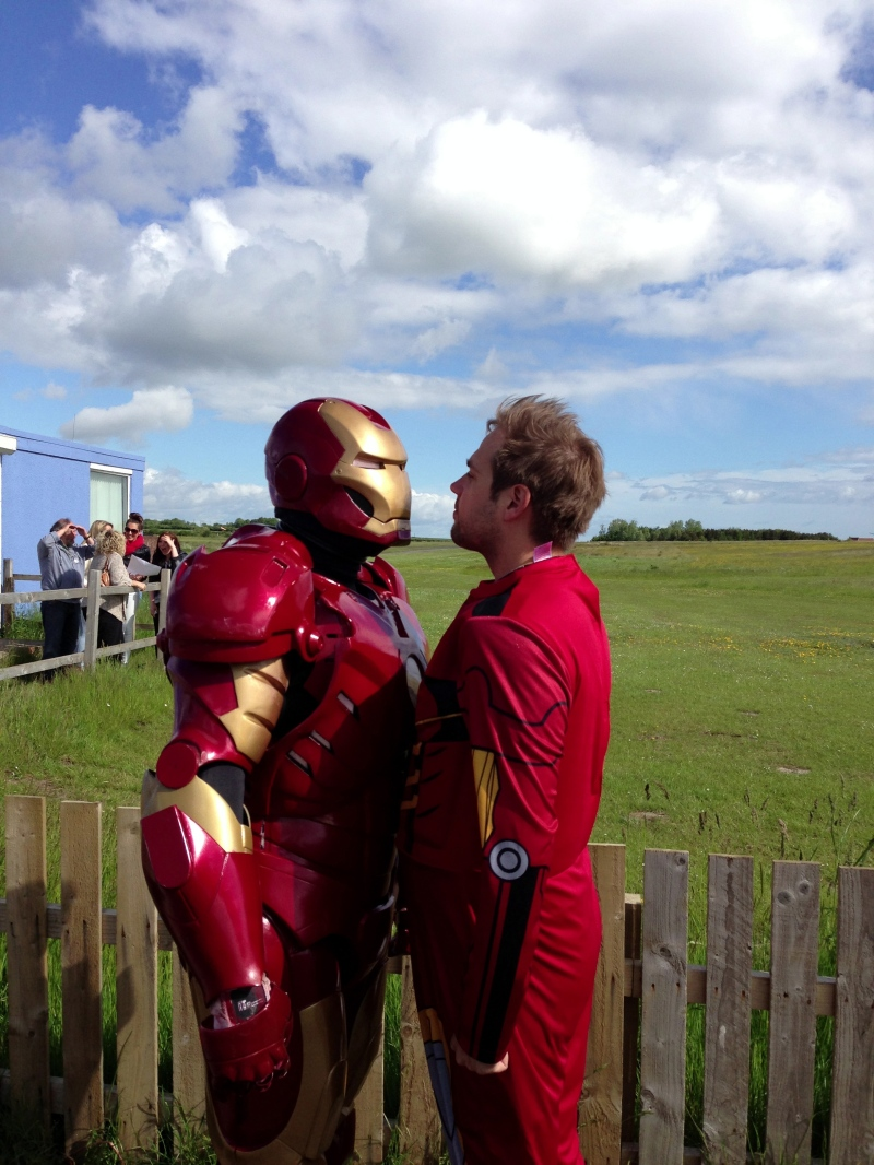 Iron Man Square Off