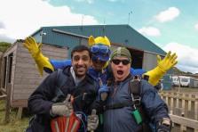 Me, Bananaman and a Cameraman