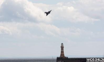 Typhoon Lighthouse Sunderland Air Show
