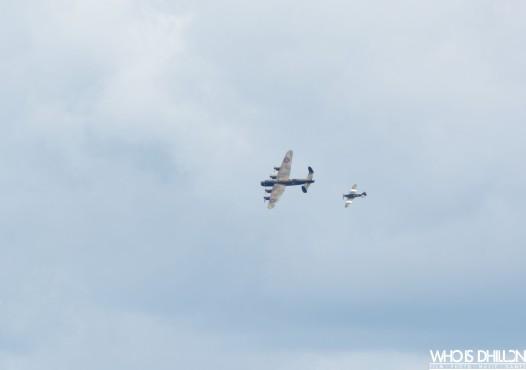 Lancaster Bomber Sunderland Air Show