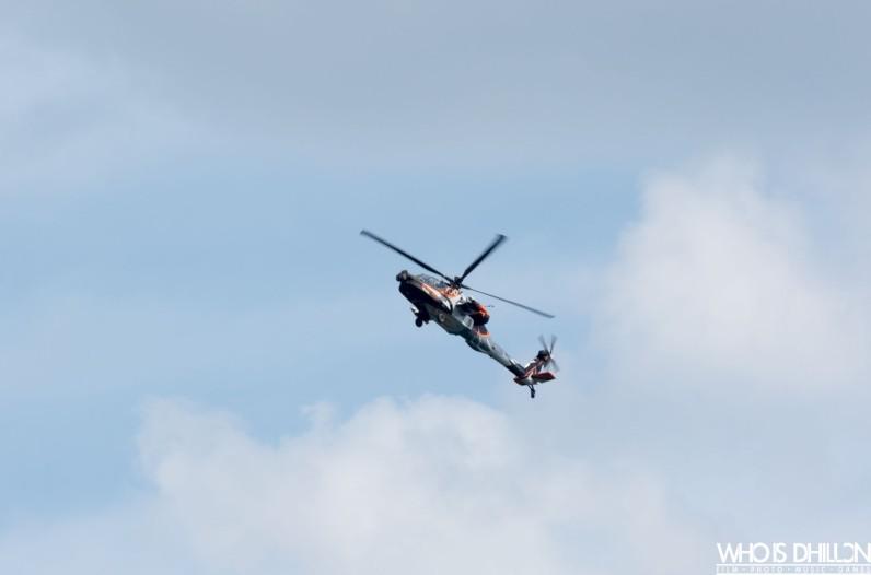 Apache Gunship Sunderland Air Show