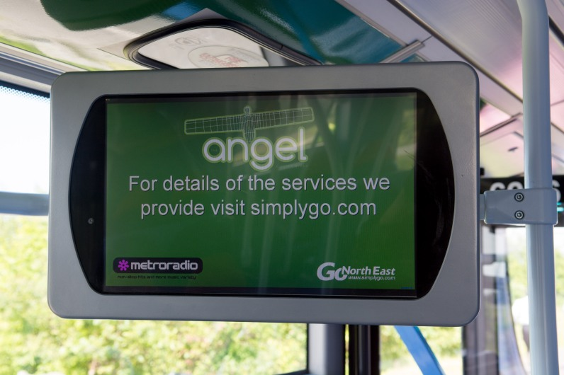 Go North East Angel Bus