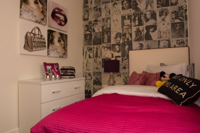 Bett Homes Photography - Pink Bed Room