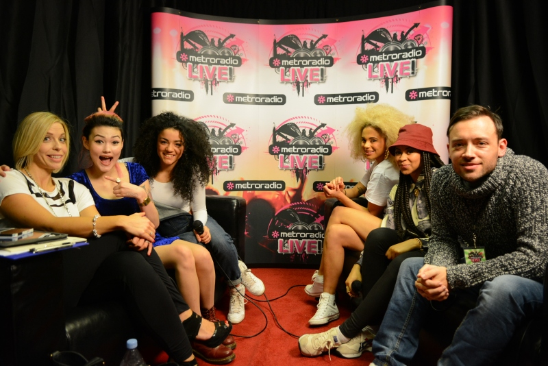 Neon Jungle at Metro Radio Live